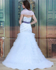 Mermaid Sweetheart Brush Train Tulle Short Sleeve Beading Wedding Dresses With Jacket
