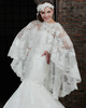Elegant Round Brought Lace Wedding Shawl/Wedding Wrap