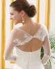 Outstanding Lace Bridal Jacket/Wedding Wrap Size 2 And Size 4