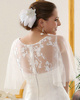 Phenomenal Lace Round Brought Bridal Jacket/Wedding Wrap