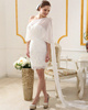Spectacular Chiffon Off-the-shoulder Bridal Jacket/Wedding Wrap