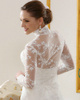 Glamorous Lace High neck Bridal Jacket/Wedding Wrap