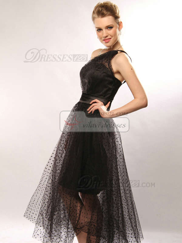 Appealing A-line Stretch Satin One shoulder Ankle-length Evening/Prom Dresses Size 2 And Size 4