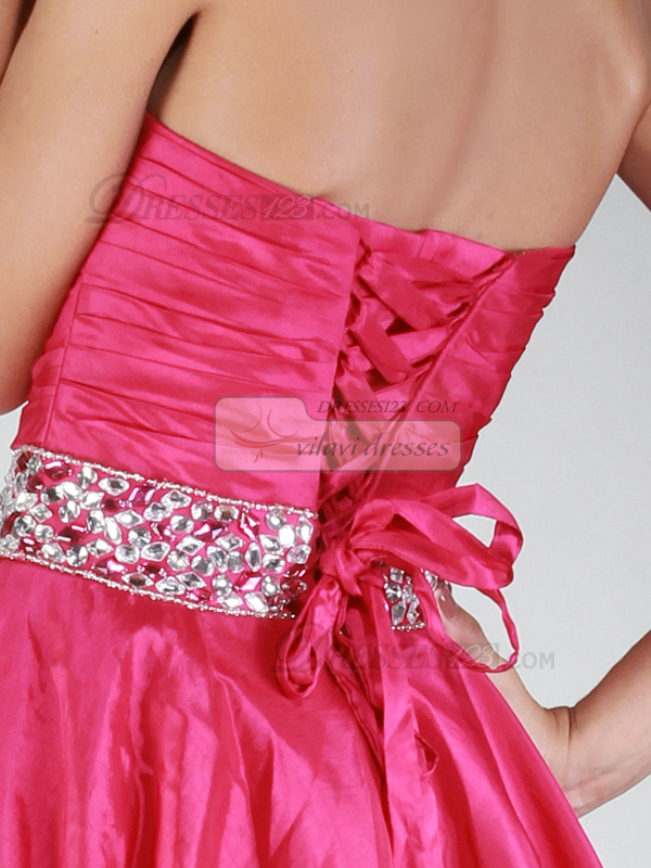 Excellent Ball Gown Sweetheart Crystal/Rhinestone Prom/Homecoming Dresses