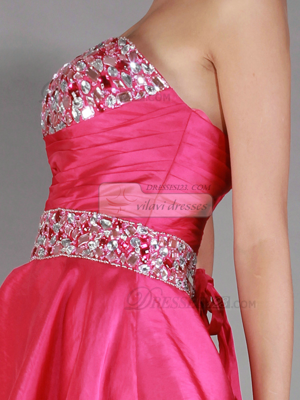 Fantastic Princess Short/Mini Crystal/Rhinestone Prom/Homecoming Dresses
