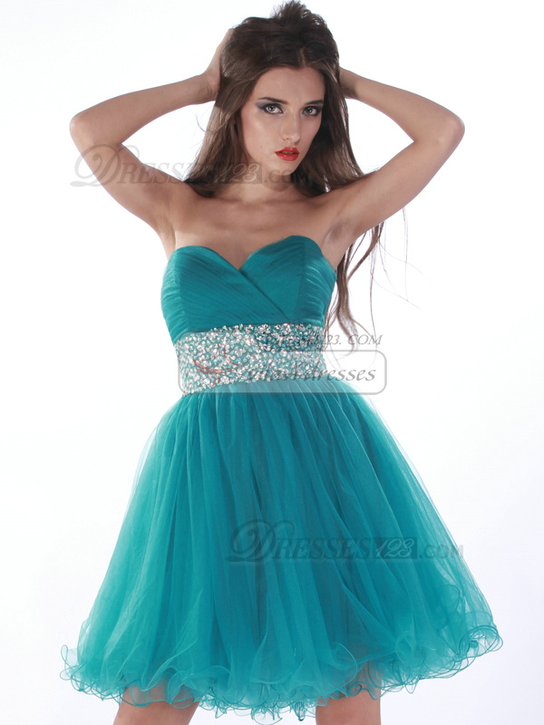TEAL HOMECOMING DRESSES - Omenas Benen