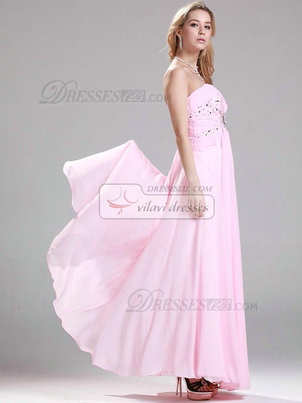 Beautiful A-line Sweetheart Floor-length Beading Evening/Prom Dresses