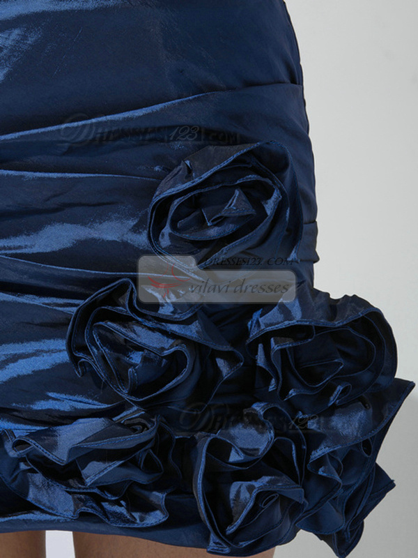 Happiness Promise A-line Taffeta Sweetheart Beading Prom/Cocktail Dresses