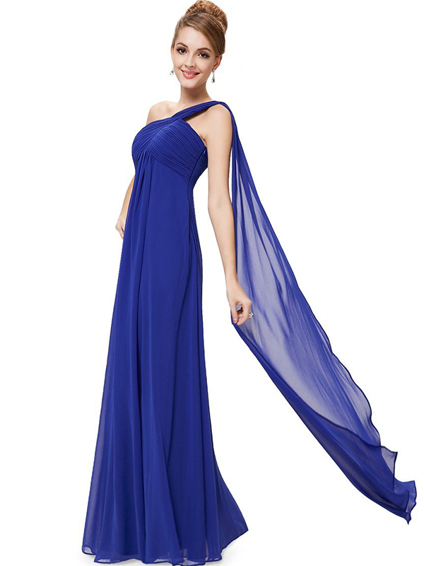 Women's One-Shoulder Evening Gown
