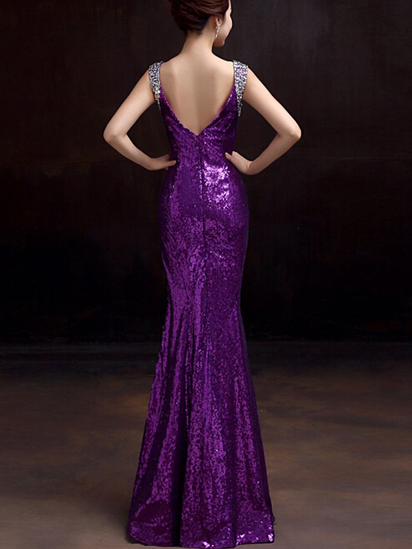Clearance sale One Shoulder Formal Prom Dress
