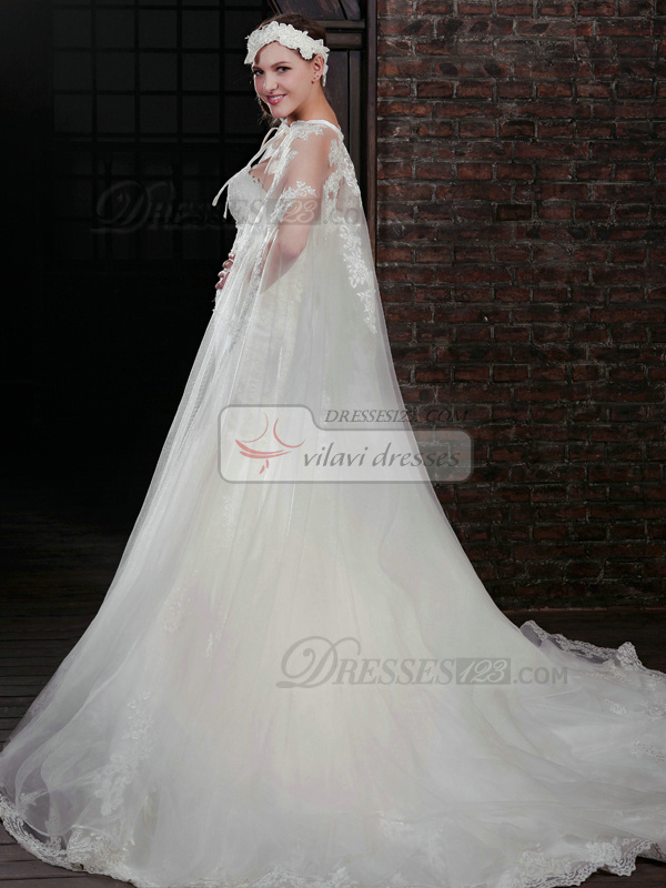 Wonderful Mermaid Lace Strapless Court Train Wedding Dresses With Jacket