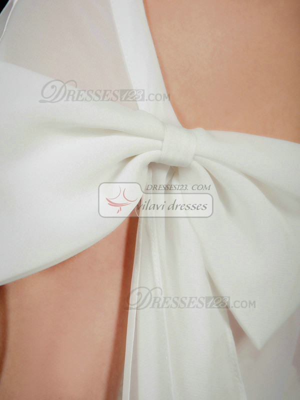 Snazzy 3/4 Length Sleeve Chiffon Bridal Jacket/Wedding Wrap