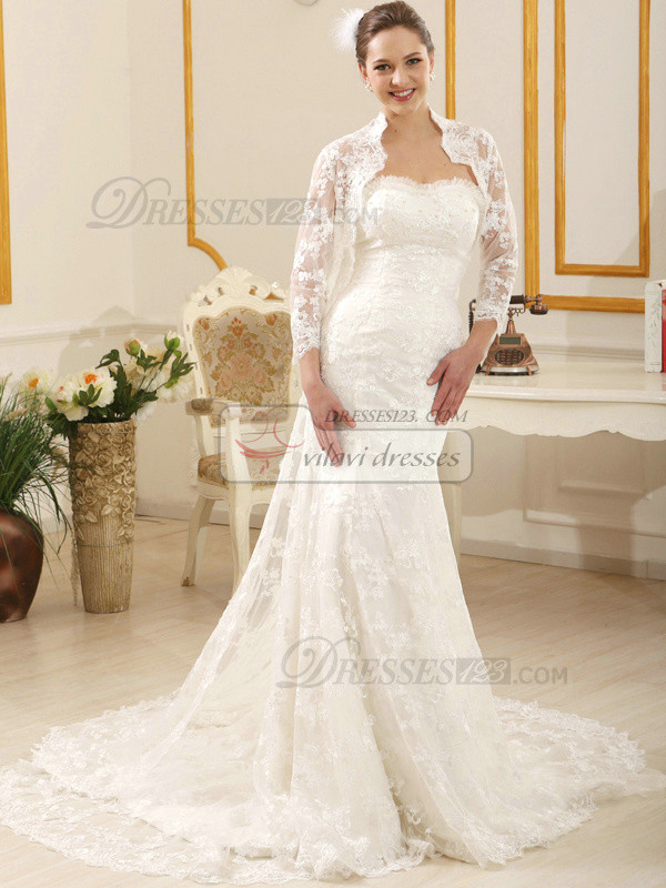 Intelligent Lace High neck Bridal Jacket/Wedding Wrap