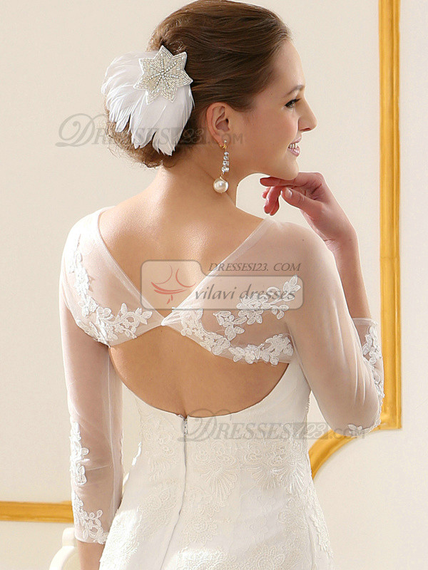 Snazzy Lace Bridal Jacket/Wedding Wrap