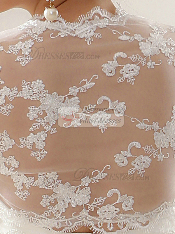 Wonderful Lace Open Front Bridal Jacket/Wedding Wrap