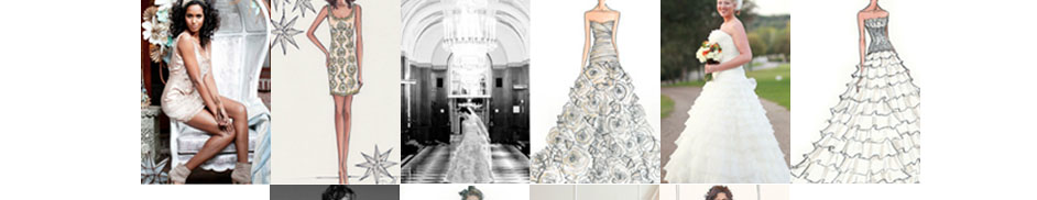 design your own luxurious wedding dress